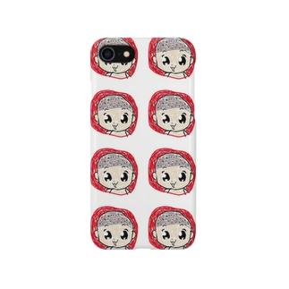 ベビー屍 マルチ柄 Smartphone cases