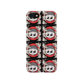 生ける屍モモンガ マルチ柄 Smartphone cases