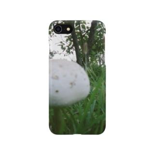 マッシュ・ホワイト Smartphone cases