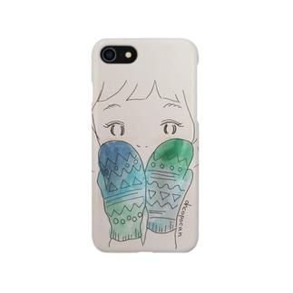 ぬくぬく冬がーる Smartphone cases