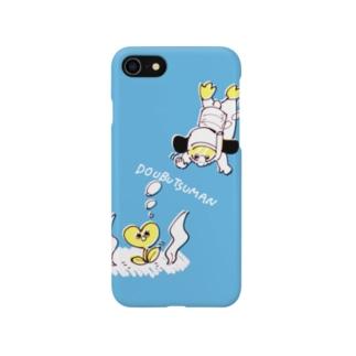 どうぶつマン(海中) Smartphone cases