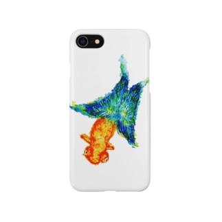 uxumixのバタフライフィッシュ Smartphone cases