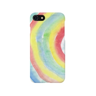 雨があるのは虹のため。 Smartphone cases
