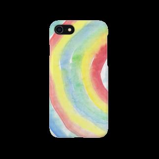 KiKiTRiP Magの雨があるのは虹のため。 Smartphone cases