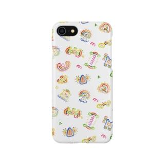 にじ〜ず! Smartphone cases