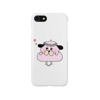 そふとちゃん!恋するいちごフレーバー Smartphone cases