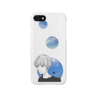 宇宙(ソラ)と少年 Smartphone cases