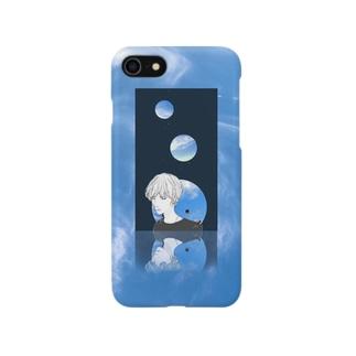鏡面の空 Smartphone cases