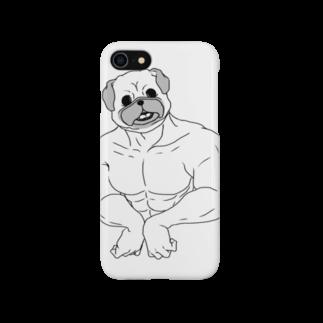 one-naacoのパグマッチョ Smartphone cases