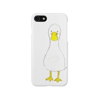 クレヨンあひる Smartphone cases