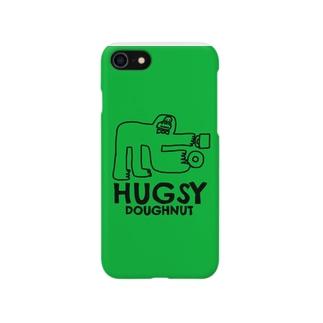 ハグジードーナツ02 Smartphone cases