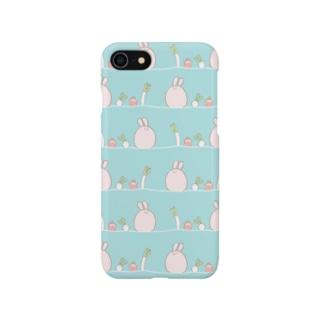 うさぎ菜園 Smartphone cases
