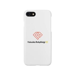 福岡Ruby会議 ロゴ(文字入り) Smartphone cases