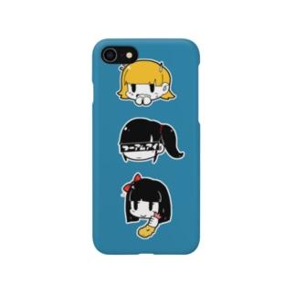 顔たちのケース Smartphone cases