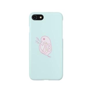 ハートの心臓みじんこ Smartphone cases