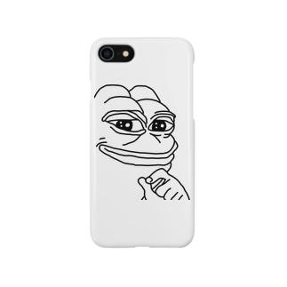 シンプル is ペペ Smartphone cases