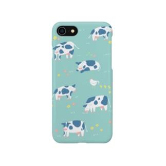 モーモー牧場 Smartphone cases