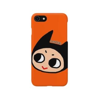 あくまのアイコンちゃん(たてなが) Smartphone cases