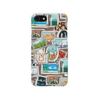 旅する絵筆 Smartphone cases