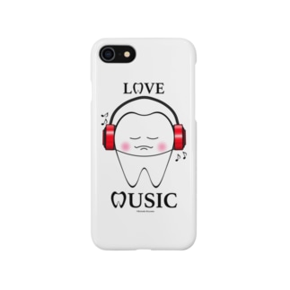 Tooth Music Red Smartphone cases