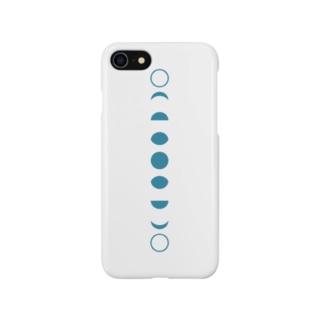 朔望 青 たて Smartphone cases