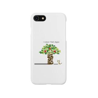 りんごが欲しいねこ Smartphone cases