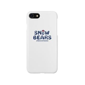snowbears.navy.logo Smartphone cases