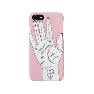 手相 Smartphone cases