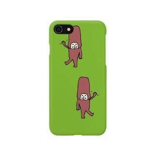 やっほい(きみどり) Smartphone cases