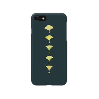銀杏とカクテル Smartphone cases