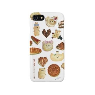 コラボiPhoneフラットケース Smartphone cases