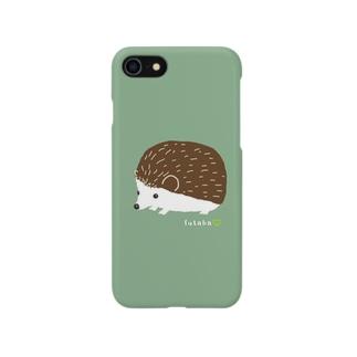 ハリネズミのチョコ Smartphone cases
