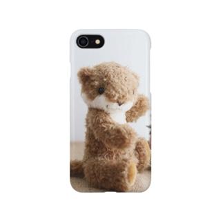 カワウソぴゃぴゃ Smartphone cases