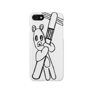 電気泥棒 Smartphone cases