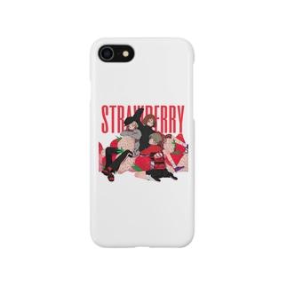 strawberry スマートフォンケース