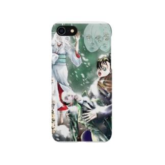 おそろしい雪女 Smartphone cases