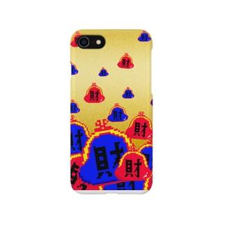 財(ゴールド) Smartphone cases