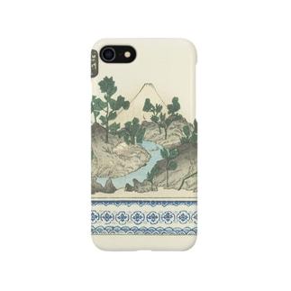 盆栽 <浮世絵イラスト> Smartphone cases