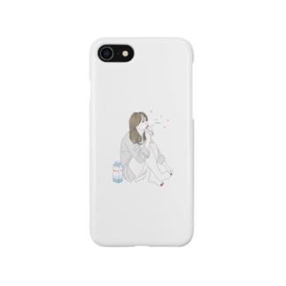 寝不足な朝 Smartphone cases