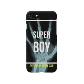 Anti JUN ON Social Club のSUPER BOY  Smartphone cases