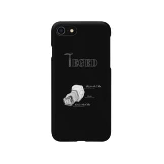 ジルコンシリーズ1 Lモデル TEGED Smartphone cases