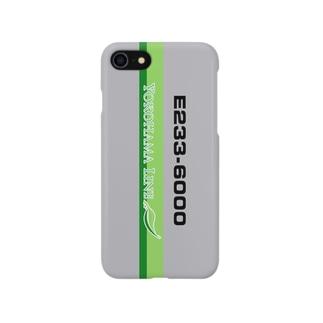 鉄道 iPhoneケース(E233系6000番代) スマートフォンケース