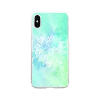 だりあ。 Soft clear smartphone cases