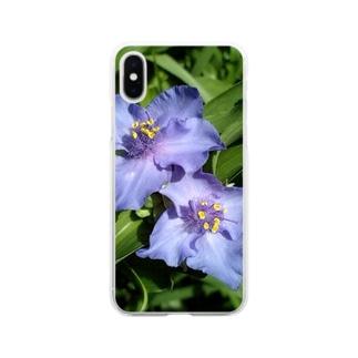 美人さん Soft clear smartphone cases