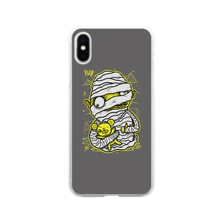 Mummy Grey Soft clear smartphone cases