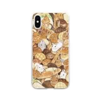 うさパン Soft clear smartphone cases