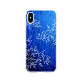 水無月の森1 Soft clear smartphone cases