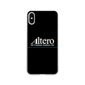Altero Custom Guitars Soft clear smartphone cases