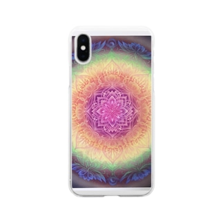 吉祥天〜ラクシュミ〜 Soft clear smartphone cases