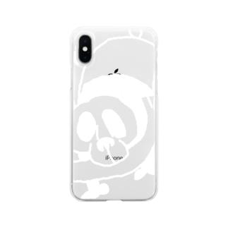 WanWanPandaの魚パンダ Soft Clear Smartphone Case